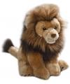 Knuffel leeuw bruin 30 cm